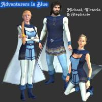Adventurers in Blue